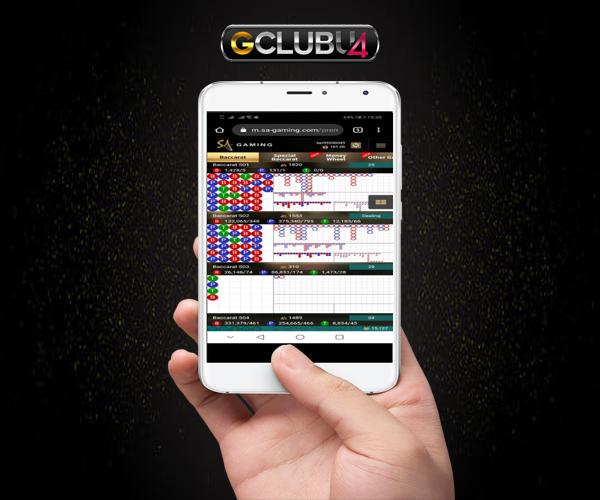 เล่นผ่านแอพกับ gclub